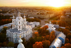 St. Petersburg in autumn